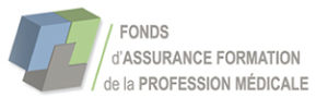 Logo fonds d'assurance formation profession médicale